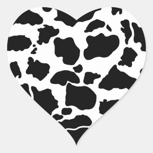 Cow skin Sticker