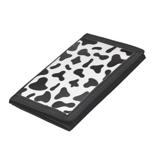 Cow Skin Texture Pattern Trifold Wallet
