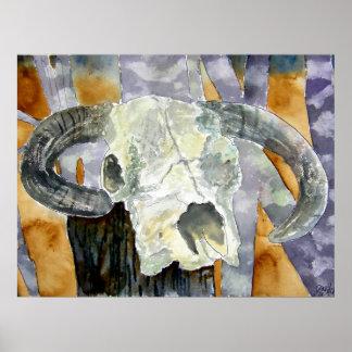 cow_skull poster