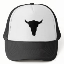Cow Skull Trucker Hat