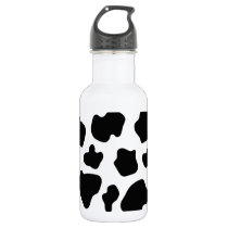Cow spot pattern | Funny animal print Water Bottle