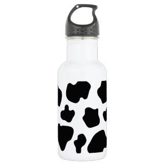 Cow spot pattern | Funny animal print Water Bottle