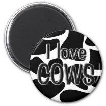 Cow Spots Magnet