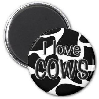 Cow Spots Refrigerator Magnet
