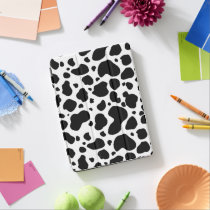 Cow Spots Pattern Black and White Animal Print iPad Pro Cover
