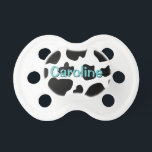 """Cow spots pattern pacifier 