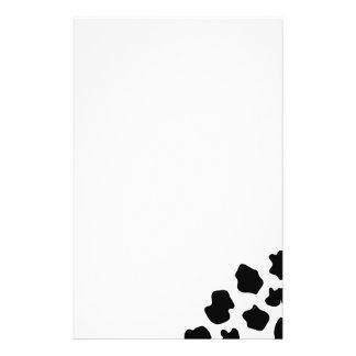 Cow spots pattern stationery   Funny animal print