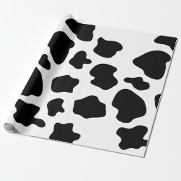 Cow spots pattern wrapping paper | animal print