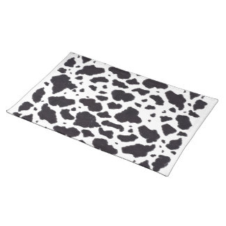 Cow Spots Cloth Placemat