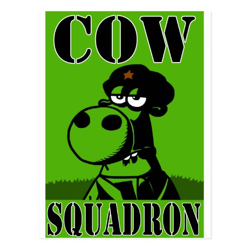 Cow Squadron Post Cards