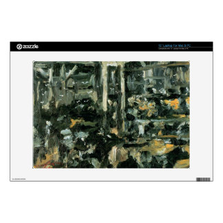 Cow Stable by Lovis Corinth Laptop Decal