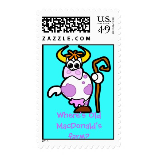 cow stamp