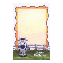 Cow Stationery