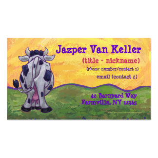 Cow Stationery Business Cards