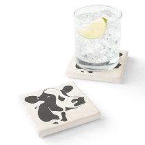 Cow Stone Coaster