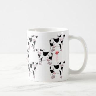 Cow style coffee mug