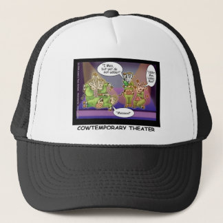 Cow-Temporary Theater Funny Cows Gifts & Tees Trucker Hat