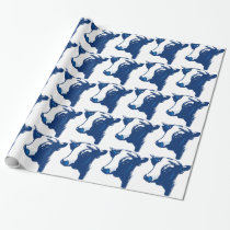 Cow the Animal Wrapping Paper