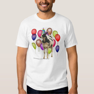 Cow Theme Birthday T Shirt