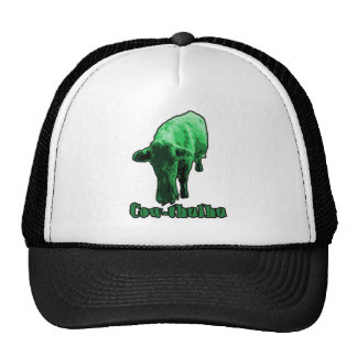 Cow-thulhu Trucker Hat