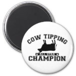 Cow Tipping All Star Champion Magnets