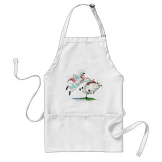 Cow Tipping Apron