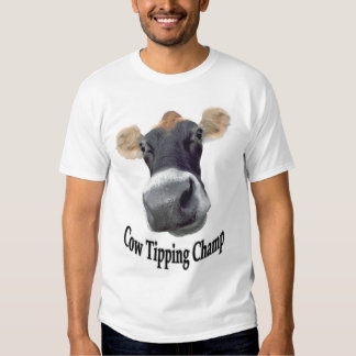 Cow Tipping Champ Shirt
