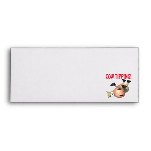 Cow Tipping Envelopes