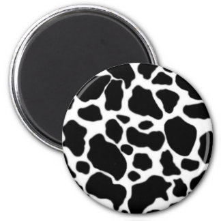 Cow to the freezer 2 inch round magnet