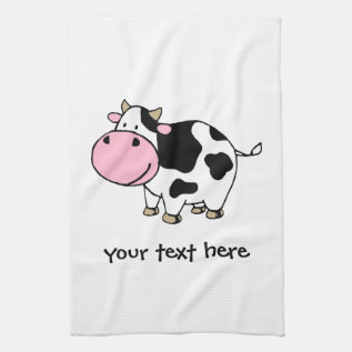 Cow Towel at Zazzle