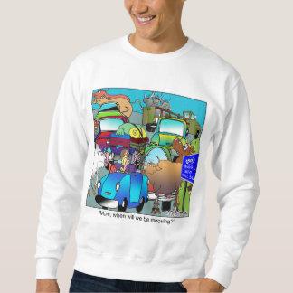 Cow Traffic Mooooving Sweatshirt