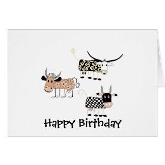 Cow Trio Card