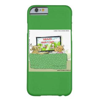 Cow TV Funny Cartoon iPhone 5 Case