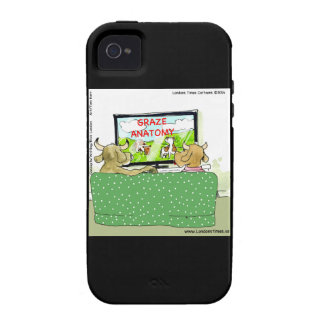 Cow TV Shows Funny Cartoon Case For The iPhone 4
