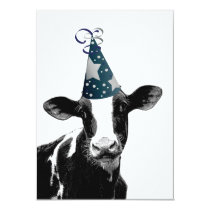 Cow Wants to Party! Card