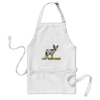 cow whisperer adult apron
