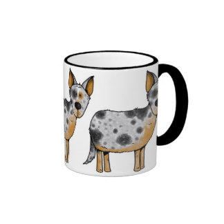 cow whisperer ringer coffee mug