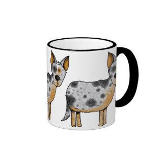 cow whisperer ringer mug