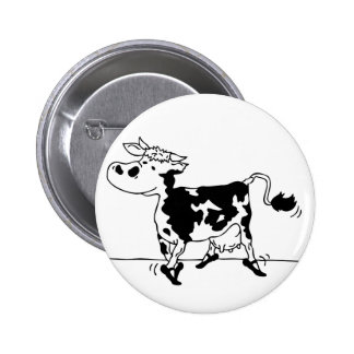 Cow with ballet shoes pins