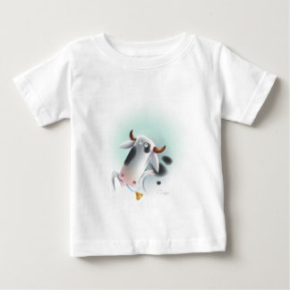 cow with bell shirt