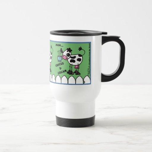 Cow with Coffee Cup 8.31x3 600 CP mug MMM...Coffee