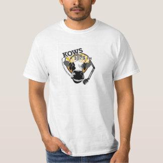 cow with microphone, KOWS Radio T-Shirt