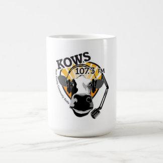 COW with microphone mug