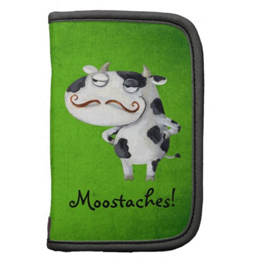 Cow with Mustaches Planners