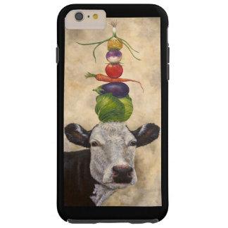 Cow with veggies iPhone6plus tough case