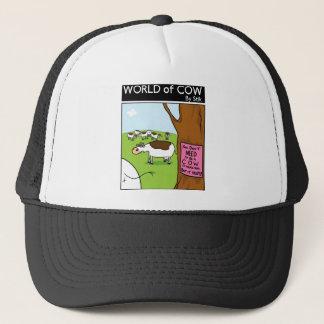 Cow Workplace Privilege Trucker Hat