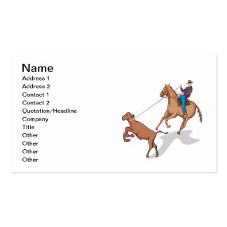 Cow Wrangling 2 Business Cards