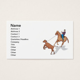 Cow Wrangling 2 Business Card