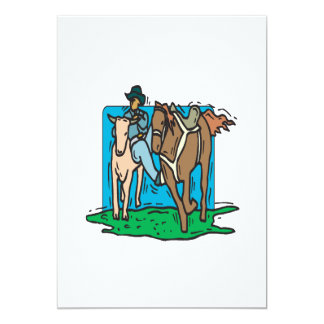 Cow Wrangling Card