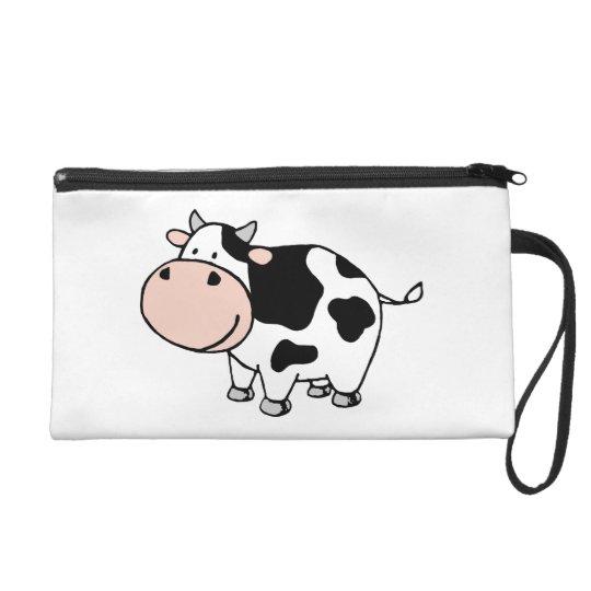Cow Wristlet